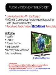 Audio Video Monitoring kit