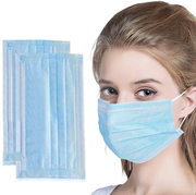 Blue Medical Disposable Face Masks With Earloop